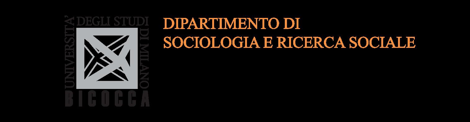 Logo Dipartimento Sociologia e Ricerca sociale dell'Università degli Studi di Milano Bicocca