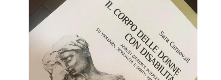 """Copertina libro """"Il corpo delle donne con disabilità"""""""